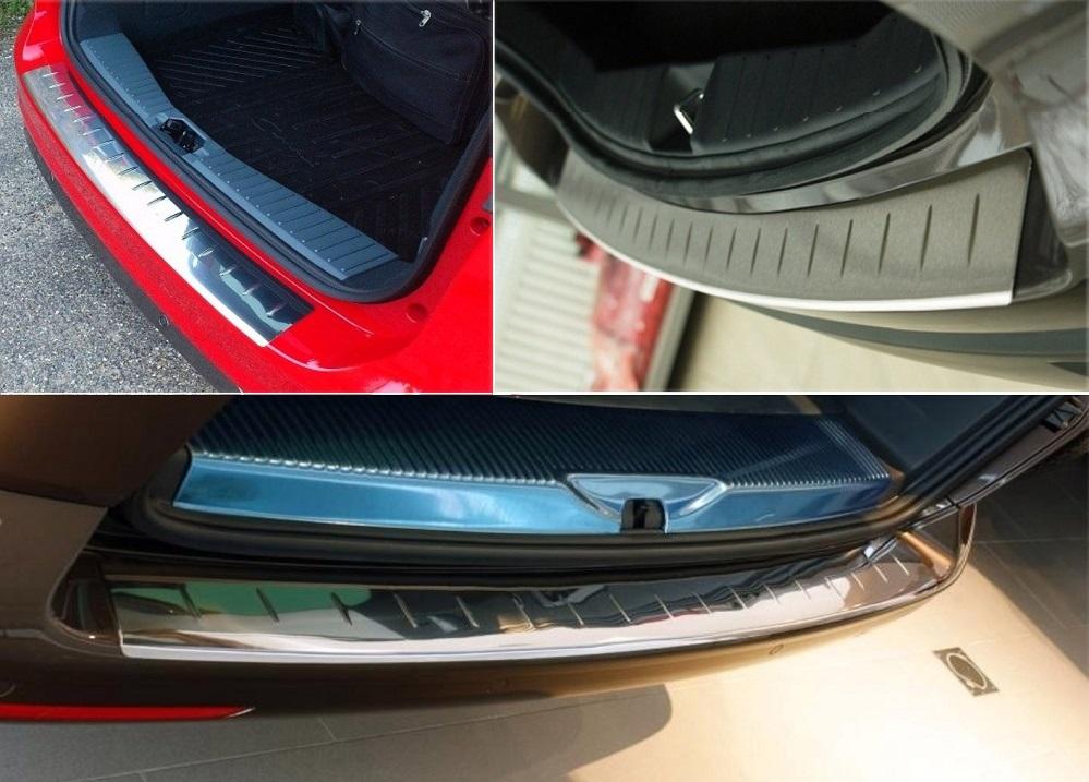 Premium Edelstahl Ladekantenschutz Schutz Leiste für Opel Zafira B 2005-2014