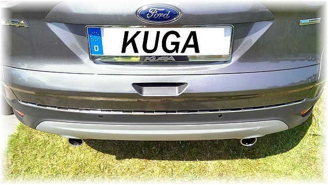 ford kuga ii 2013 2016 stainless steel boot edge protector. Black Bedroom Furniture Sets. Home Design Ideas